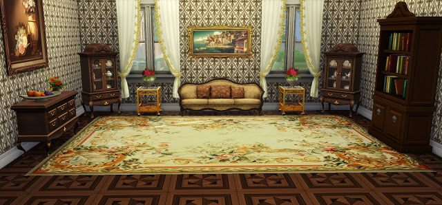 Vintage Rugs 02 at Ladesire image 776 Sims 4 Updates