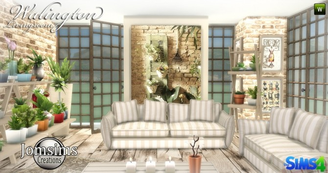 Walington Living room at Jomsims Creations image 778 670x355 Sims 4 Updates