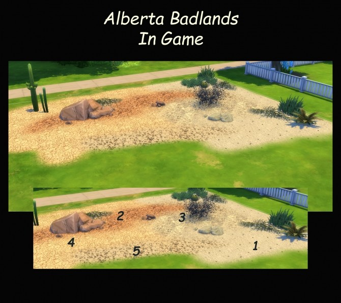 5 Terrains from the Alberta Badlands by Simmiller at Mod The Sims image 78 670x597 Sims 4 Updates