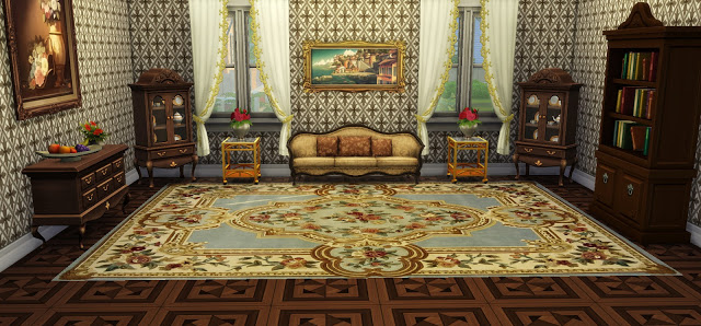 Vintage Rugs 02 at Ladesire image 786 Sims 4 Updates