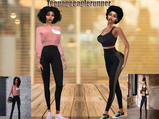 Sims 4 Sport Collection at Teenageeaglerunner