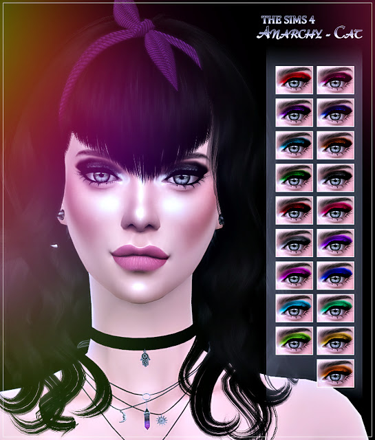 Eyeshadow #8b at Anarchy Cat image 793 Sims 4 Updates