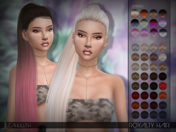 Royalty Hair by Leah Lillith at TSR image 805 Sims 4 Updates