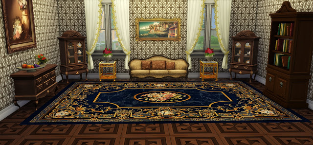 Vintage Rugs 02 at Ladesire image 806 Sims 4 Updates