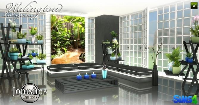 Sims 4 Walington Living room at Jomsims Creations