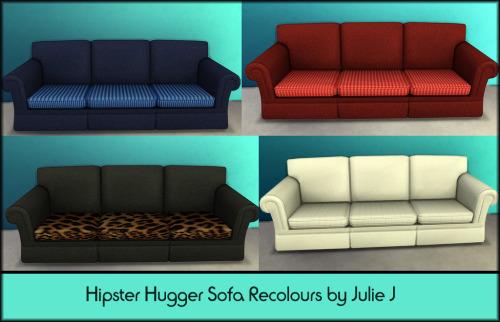 Hipster Hugger Sofa Recolours at Julietoon – Julie J image 8111 Sims 4 Updates