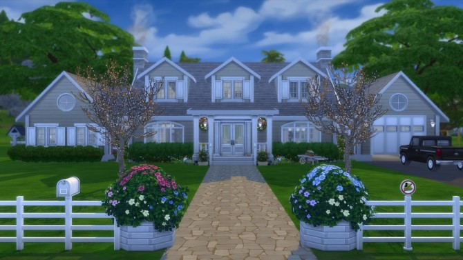 The Dartmoth House Remastered NO CC by pollycranopolis at Mod The Sims image 8116 670x377 Sims 4 Updates
