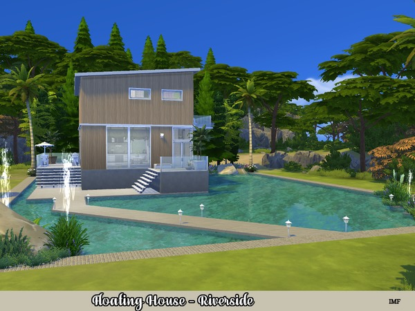 IMF Floating House Riverside by IzzieMcFire at TSR image 812 Sims 4 Updates