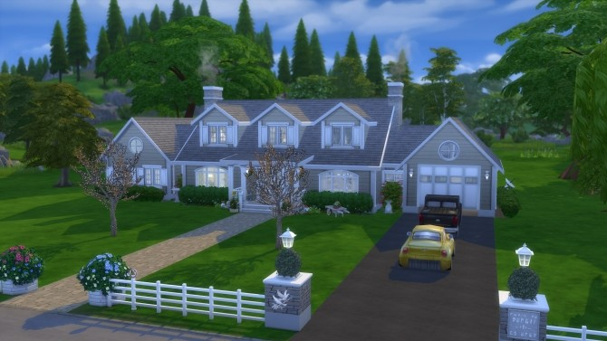The Dartmoth House Remastered NO CC by pollycranopolis at Mod The Sims image 8213 670x377 Sims 4 Updates