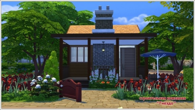 Sims 4 House 6 Challenge at Sims by Mulena