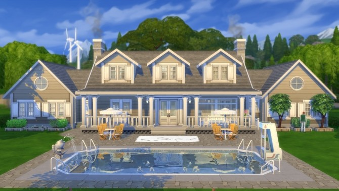 The Dartmoth House Remastered NO CC by pollycranopolis at Mod The Sims image 8312 670x377 Sims 4 Updates