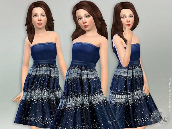 Starla Dress by lillka at TSR image 834 Sims 4 Updates