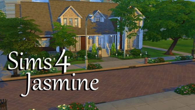 Jasmine house by PolarBearSims at Mod The Sims image 841 670x377 Sims 4 Updates
