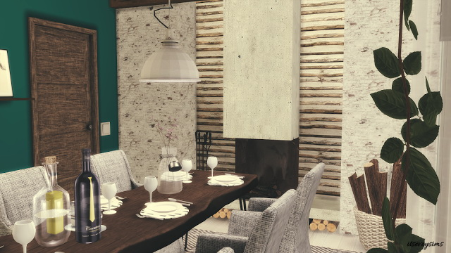 Petrol Dining Room at Evey Sims image 858 Sims 4 Updates