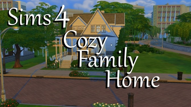 Cozy Family Home by PolarBearSims at Mod The Sims image 891 670x377 Sims 4 Updates