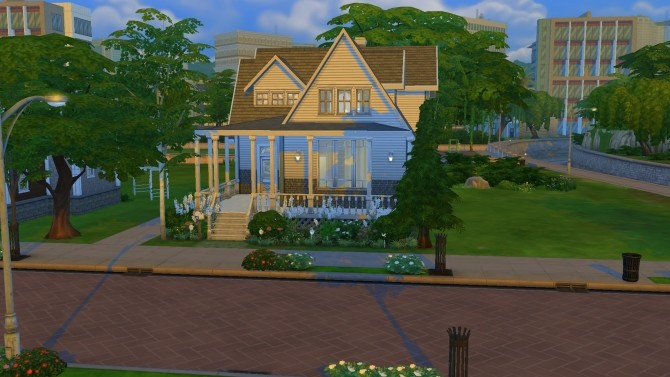 Cozy Family Home by PolarBearSims at Mod The Sims image 901 670x377 Sims 4 Updates