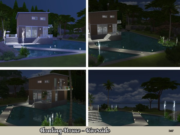 IMF Floating House Riverside by IzzieMcFire at TSR image 910 Sims 4 Updates