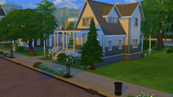 Cozy Family Home by PolarBearSims at Mod The Sims image 911 670x377 Sims 4 Updates
