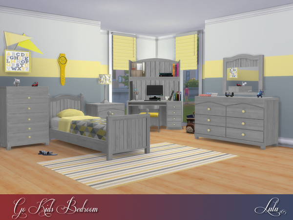 Go Kids Bedroom by Lulu265 at TSR image 912 Sims 4 Updates