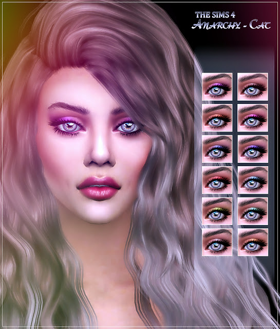 Eyeshadow #5 at Anarchy Cat image 92 Sims 4 Updates