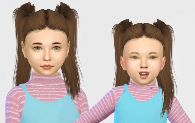 Leahlillith Bling Hair Kids Amp Toddlers At Simiracle 187 Sims