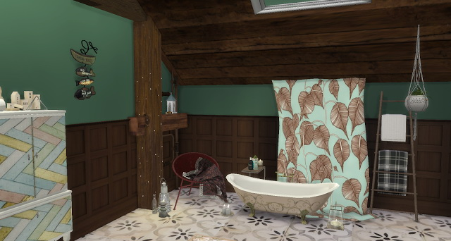 Justin bathroom by Rissy Rawr at Pandasht Productions image 932 Sims 4 Updates