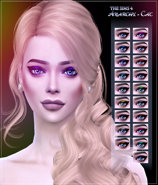 Eyeshadow #1 at Anarchy Cat image 94 Sims 4 Updates