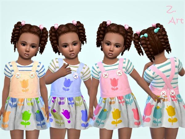 Sims 4 BabeZ 30 dress by Zuckerschnute20 at TSR