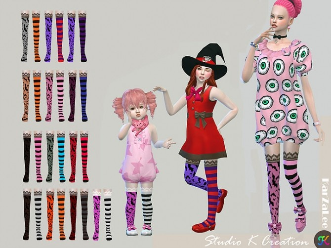 DarkSouls bat socks for all ages at Studio K Creation image 9514 670x502 Sims 4 Updates