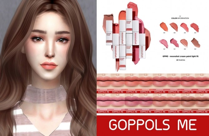 Sims 4 Cream paint light fit at GOPPOLS Me