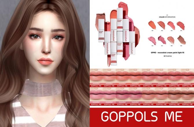 Cream Paint Light Fit At Goppols Me 187 Sims 4 Updates