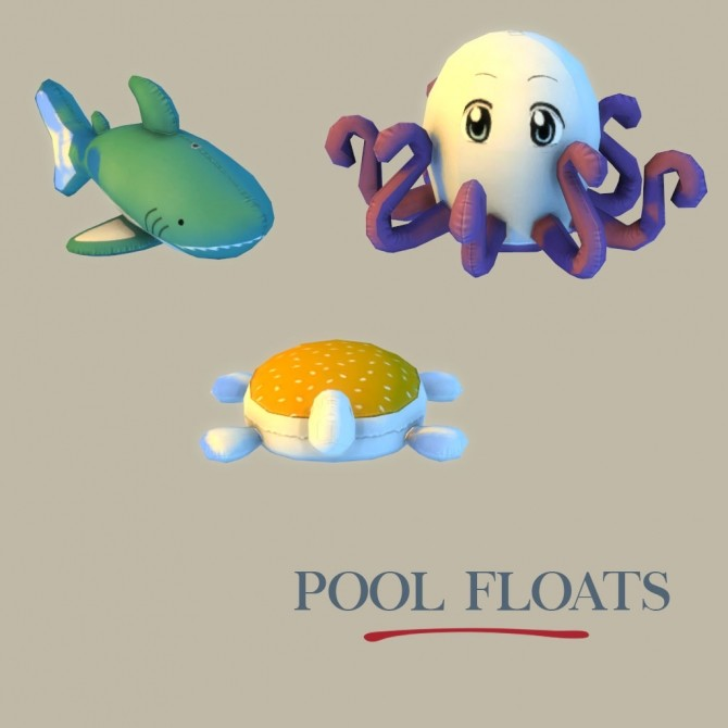 Sims 4 Lily Pool Floats at Leo Sims
