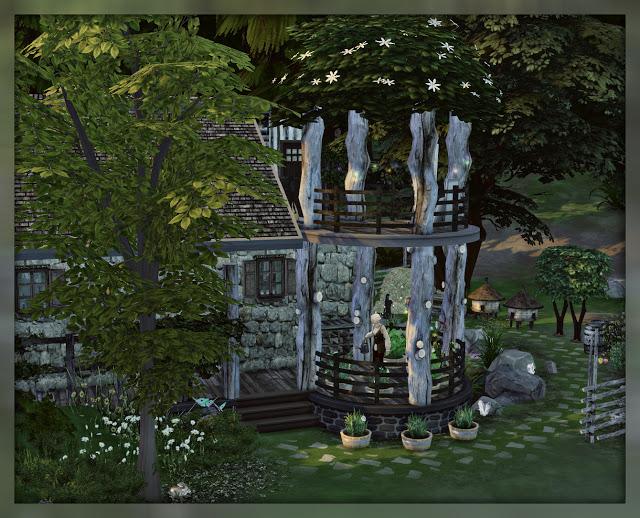 Sims 4 Alchemist house at Nagvalmi
