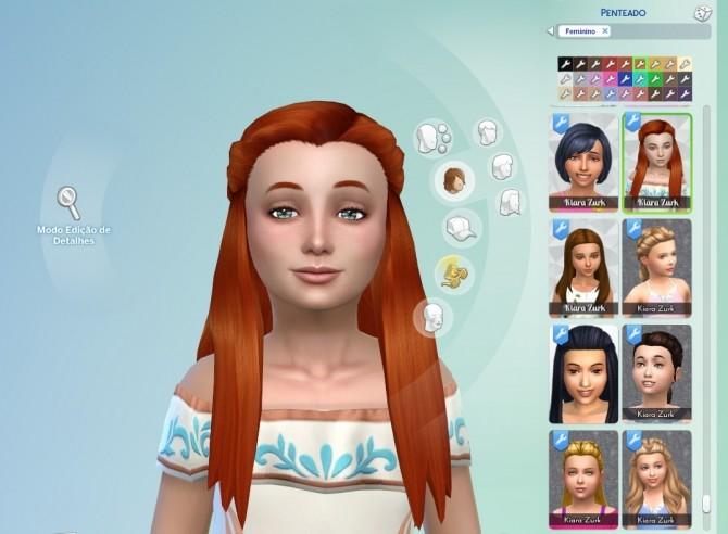 Małgorzata Hair for Girls at My Stuff image 10014 670x492 Sims 4 Updates