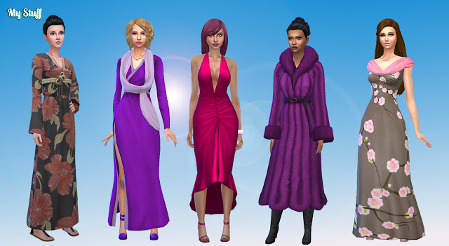 Body Clothes F Pack 3 at My Stuff image 10118 Sims 4 Updates