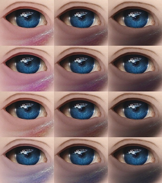 Lenses #7 & bruises #2 at Magic bot image 1013 670x753 Sims 4 Updates