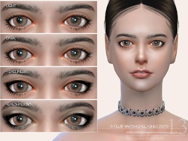Eyelashes 201713 by S Club WM at TSR image 1020 Sims 4 Updates