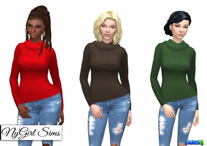 Hooded Long Sleeve Tee at NyGirl Sims image 10412 670x473 Sims 4 Updates