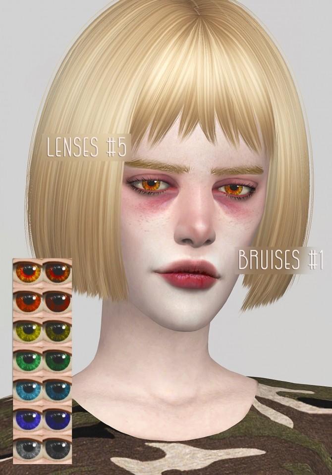 Lenses And Bruises At Magic Bot 187 Sims 4 Updates