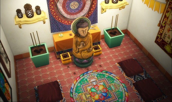 Sims 4 Tibetan monastery at Nyuska