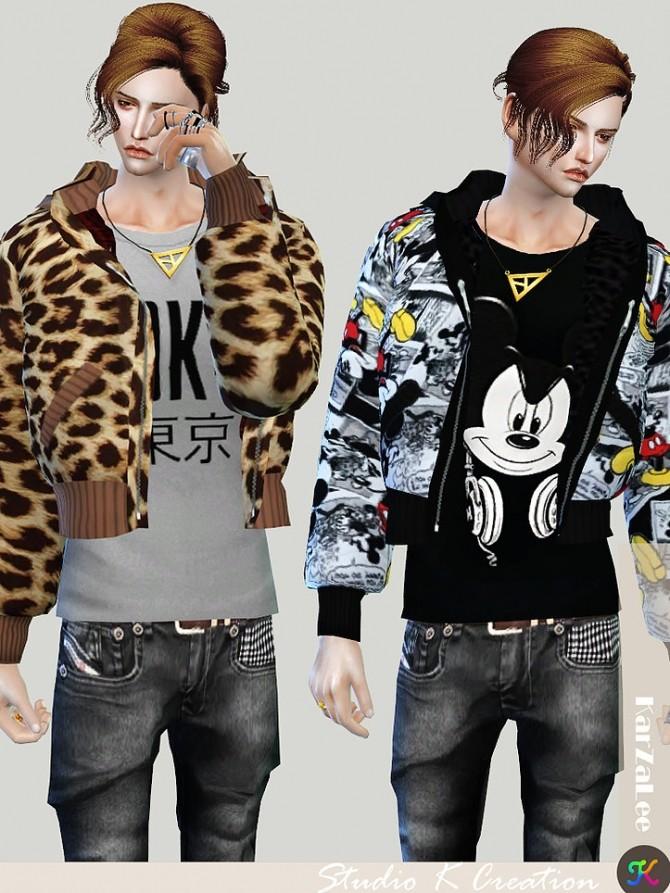 Aoba jacket M at Studio K Creation image 10514 670x893 Sims 4 Updates