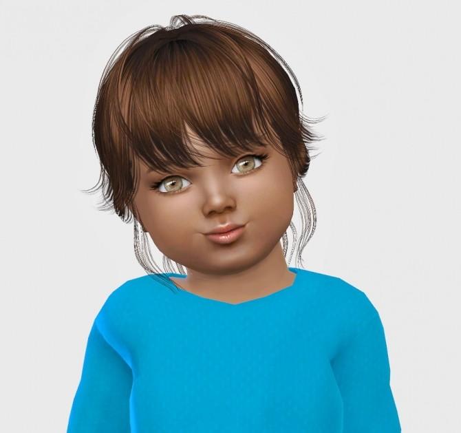 Sims 4 NewSea Paulina hair T at Simiracle