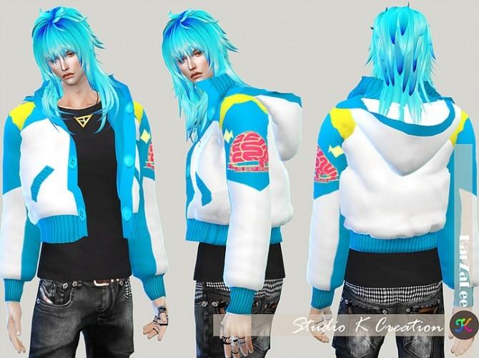 Aoba jacket M at Studio K Creation image 10713 670x502 Sims 4 Updates