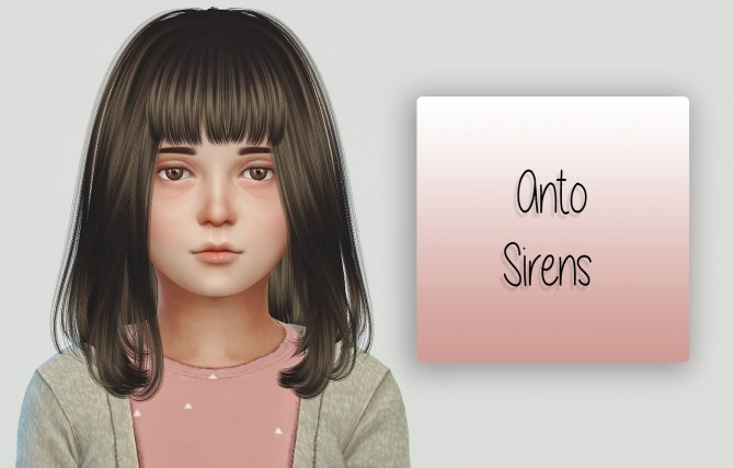 Anto Sirens Hair Kids Version at Simiracle image 1078 670x427 Sims 4 Updates