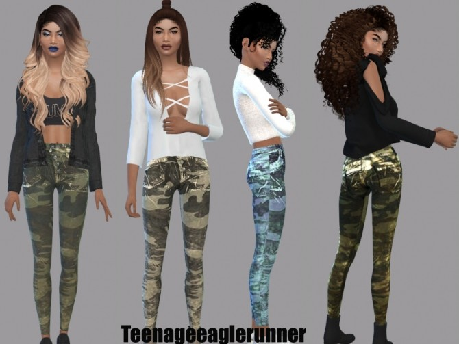 Sims 4 Lilly Jeans at Teenageeaglerunner