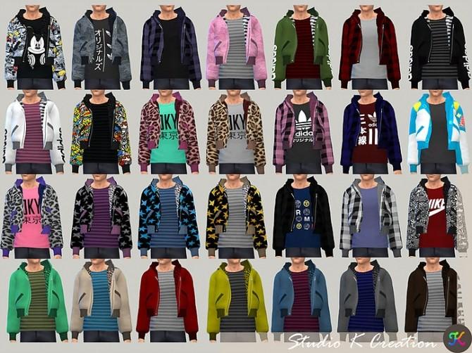 Aoba jacket M at Studio K Creation image 10814 670x502 Sims 4 Updates