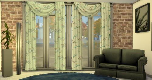 Sims 4 RC Curtain FliBo at ChiLLis Sims