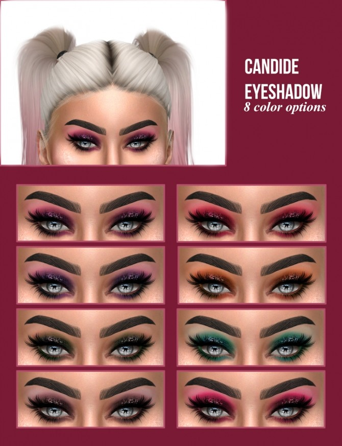 CANDIDE EYESHADOW at Kenzar Sims image 1111 670x873 Sims 4 Updates