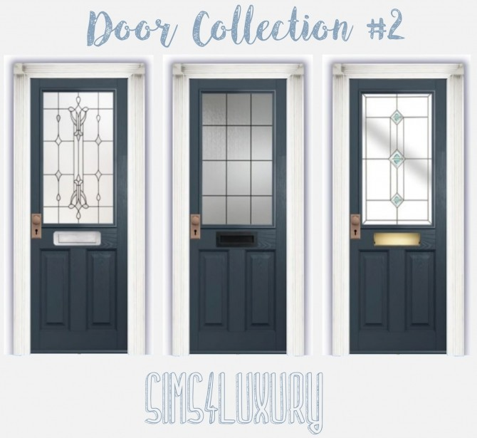 Sims 4 Door Collection #2 at Sims4 Luxury