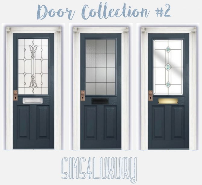 Sims 4 Cc S The Best Windows By Tingelingelater: Door Collection #2 At Sims4 Luxury » Sims 4 Updates